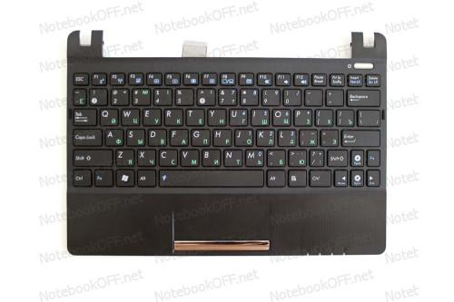 Клавиатура для ноутбука Asus EeePC X101 + верхнаяя часть корпуса (black frame) фото №1
