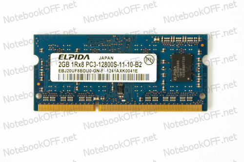 Модуль памяти для ноутбука SO DIMM DDR3 2048 Мб/ 2Гб фото №1