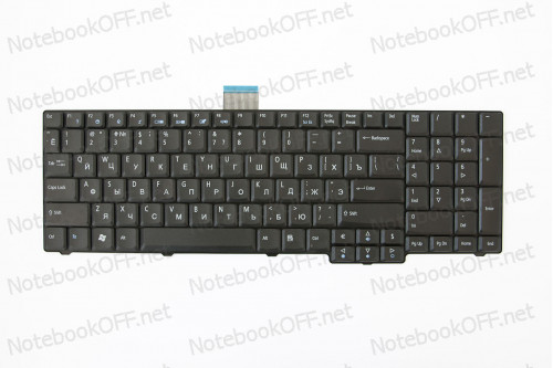 Клавиатура для ноутбука Acer TravelMate 7530G, 7530, 7730, 7730G фото №1