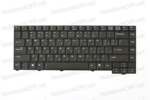 Клавиатура для ноутбука Asus F2, F3, T11 фото №1