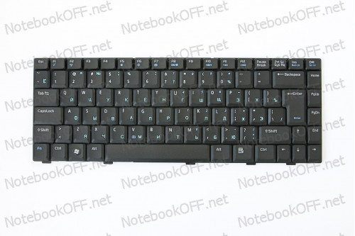 Клавиатура для ноутбука Asus A8, W3, F8, Z99, X80 фото №1