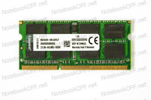 Модуль памяти для ноутбука SO DIMM DDR3 4096 Мб/ 4Гб фото №1