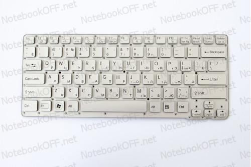 Клавиатура для ноутбука Sony VPC-CA, VPCCA Series (silver, без фрейма) фото №1