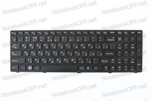 Клавиатура для ноутбука Lenovo G570, G575, G770, G780, Z560, Z565 (black frame) фото №1