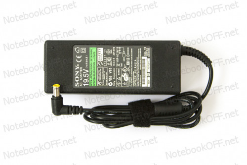 Блок питания Sony 92Вт (19.5В 4.7А 6.5*4.4мм) (без кабеля 220В) фото №1