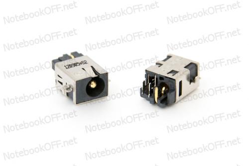 Разъем питания для ноутбуков Asus X301, X302, X401, X501, X502 PJ204 (d2.5мм) фото №1