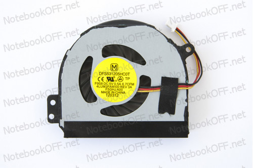 Вентилятор (кулер) для ноутбука Dell Inspiron 1464, 1564, 1764 фото №1