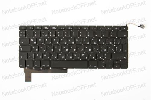 Клавиатура для ноутбука Apple Macbook Pro A1286 Black (Backlit) фото №1