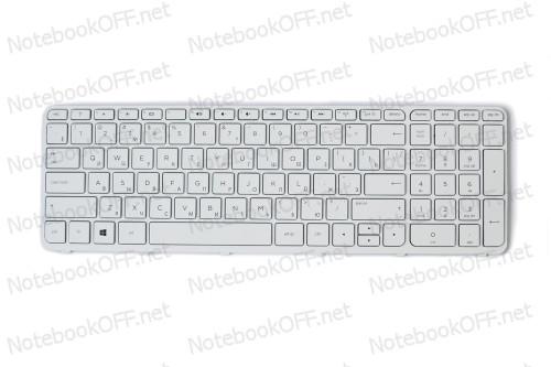 Клавиатура для ноутбука HP Pavilion 17-E series (white frame) фото №1