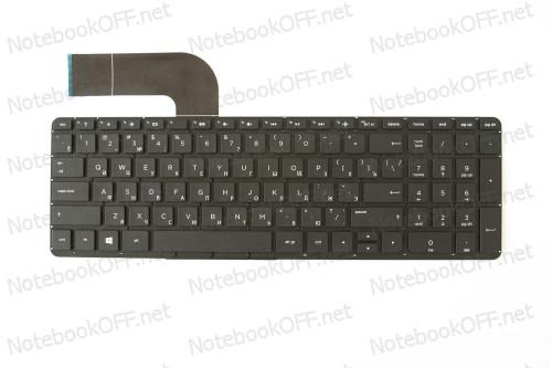 Клавиатура для ноутбука HP Pavilion 15-P, 15Z-P, 17-F series (black, без рамки) фото №1