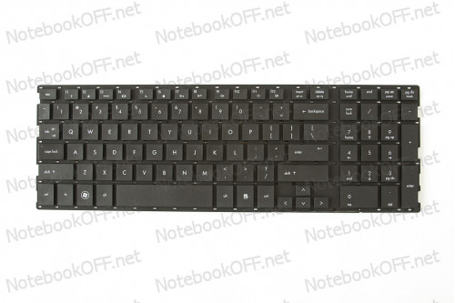 Клавиатура для ноутбука HP ProBook 4510s, 4515s, 4710s (без фрейма) фото №1