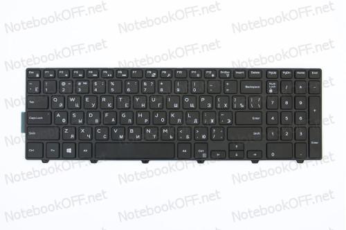 Клавиатура для ноутбука Dell Inspiron 15 3000, 15 5000, 5547 black фото №1