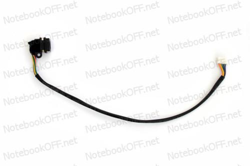 Разъем питания для ноутбуков Dell Inspiron 1564, 5720, 17R, N7010, N7110 с кабелем фото №1