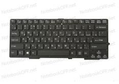Клавиатура для ноутбука Sony SVE13, SVS13 Series (black, без подсветки)