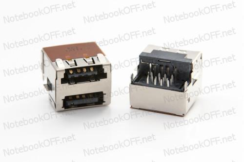 Разъем USB для ноутбуков Dell Latitude E6400, E6410, E6500, E6510 фото №1