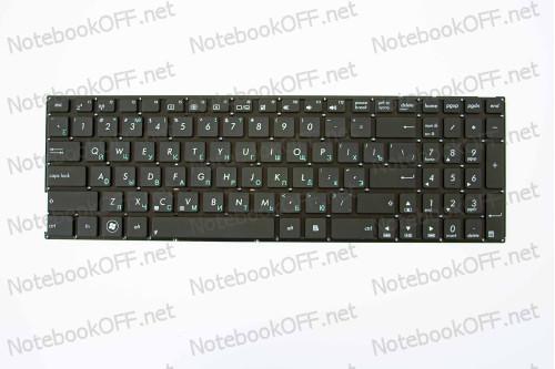 Клавиатура оригинальная для ноутбука Asus A556u, A556ua, A556ub, A556uf, A556uj, A556ur, A556uv, A556, X556 Series (0KNB0-610QRU00, 90NB09S1-R31RU0) (black, без фрейма) фото №1