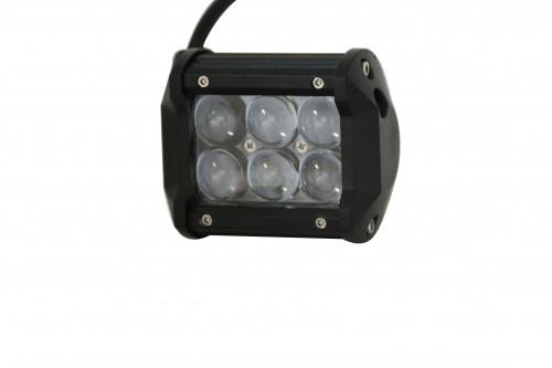 Led фара/фонарь ILT 18W Spot комплект 2 шт. фото №1