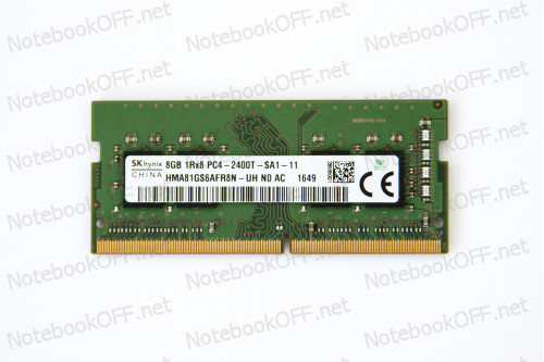 Модуль памяти для ноутбука SO DIMM DDR4 8192 Мб/ 8Гб (2400 МГц) фото №1