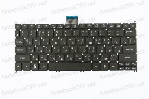 Клавиатура для ноутбука Acer Aspire E3-111, V3-371, V3-372, V5-122 фото №1