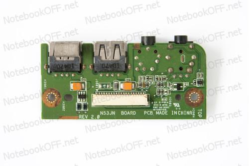 Плата (USB Board) для Asus N53 Series с Audio Jack фото №1