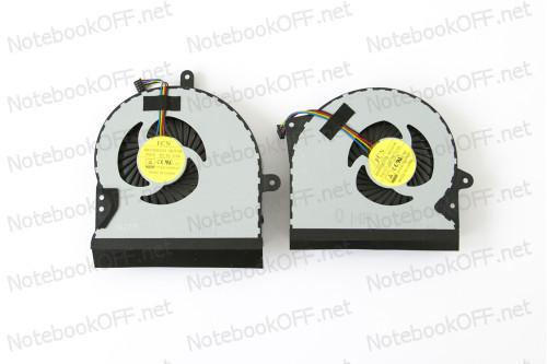 Вентилятор (кулер) для ноутбука Asus G751 2шт. Series (ver.1) фото №1