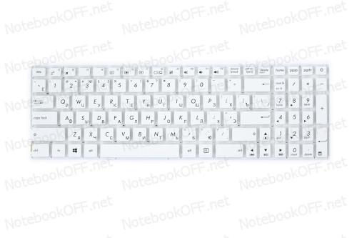 Клавиатура для ноутбука Asus X540 Series (white, без фрейма) фото №1