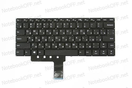 Клавиатура для ноутбука Lenovo Ideapad 310-14 (black, без фрейма) фото №1