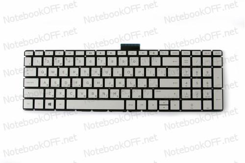 Клавиатура для ноутбука HP Pavilion 15-cd072nr, 15-cd074cl, 15-cd075nr, 15-cd076 (silver без фрейма) фото №1