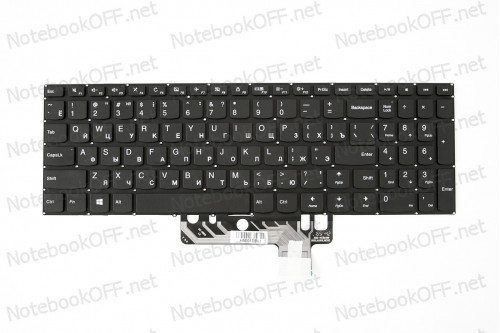 Клавиатура для ноутбука Lenovo Ideapad 310S-15ISK, 510S-15ISK, 310S-15IKB Series (black, без фрейма) фото №1