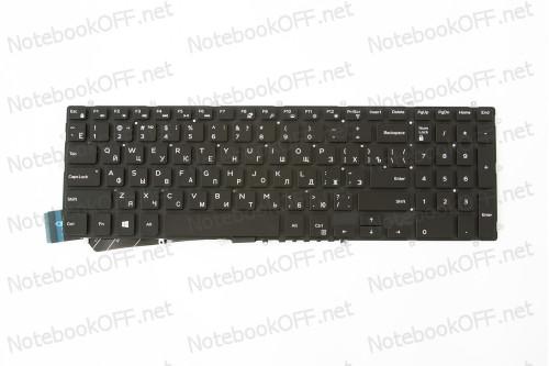 Клавиатура для ноутбука Dell Inspiron 5565, 5567, 7566, 7567, 7778 (black, без фрейма) с подсветкой фото №1