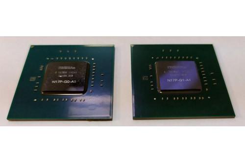 Видеочип nVidia N17P-G1-A1 128bit GeForce GTX 1050 для ноутбука (DC 2017) фото №1