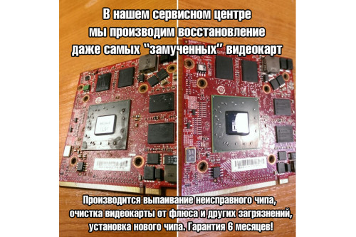 Видеокарта для ноутбука ATI Mobility Radeon HD2600 512 Мб [216MJBKA15FG]