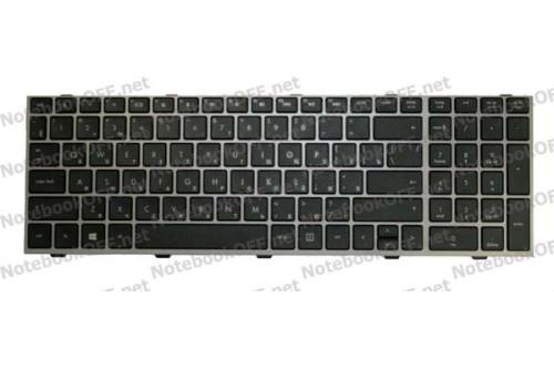 Клавиатура для ноутбука HP Probook 4540s, 4545s (с фреймом)