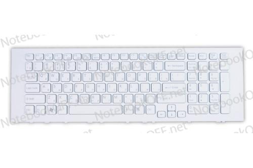 Клавиатура для ноутбука Sony VPC-EJ, VPCEJ Series (white frame)