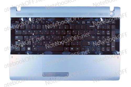 Корпус (верхняя часть, TOP CASE с клавиатурой и тачпадом) для ноутбука Samsung RV511, RV513
