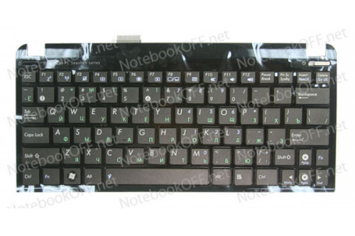 Клавиатура для ноутбука Asus EeePC 1011, 1015, 1016, 1018 (black frame) фото №1