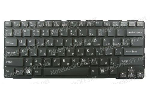Клавиатура для ноутбука Sony SVE14 Series (black, без фрейма) фото №1