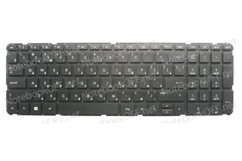 Клавиатура для ноутбука HP Pavilion 15-B, 15-T, 15-Z series (без фрейма)