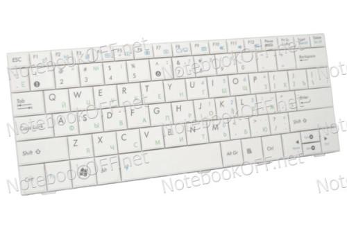 Клавиатура для ноутбука Asus EeePC 1001, 1005, 1008, T101-MT. Белая фото №1