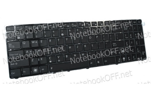 Клавиатура для ноутбука Asus G53, G72, G73, N50, N61. С подсветкой фото №1