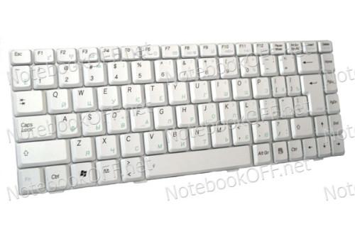 Клавиатура для ноутбука Asus W5, W6. Серебристая фото №1