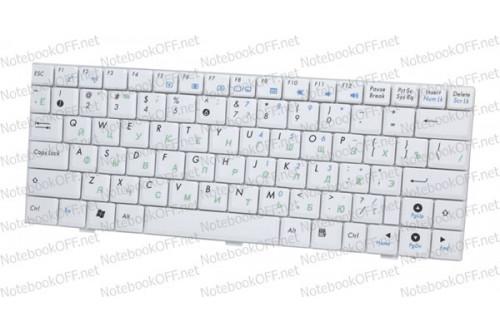 Клавиатура для ноутбука Asus eeePC 904, 1000, 1002 (white) фото №1