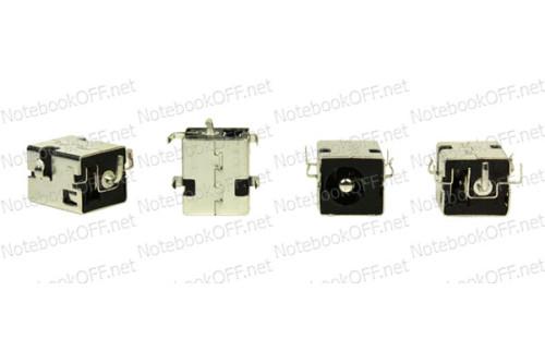 Разъем питания для ноутбуков Asus, Fujitsu-Siemens PJ033 (d2.5мм) фото №1