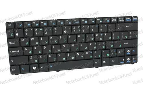Клавиатура для ноутбука Asus EeePC 1101, N10 (black) фото №1