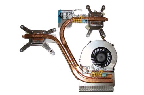 Термомодуль (с кулером DFS451205M10T) для ноутбука LG E500 фото №1