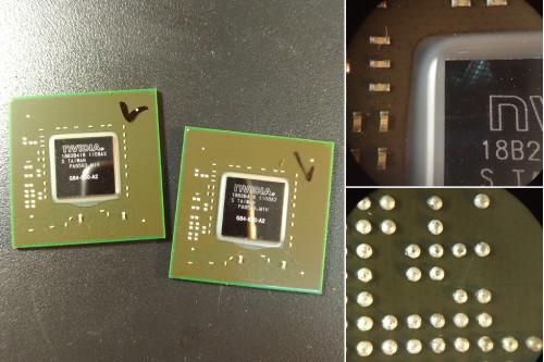Видеочип nVidia G84-600-A2/G84-603-A2 64bit GeForce 8600M GT для ноутбука фото №1