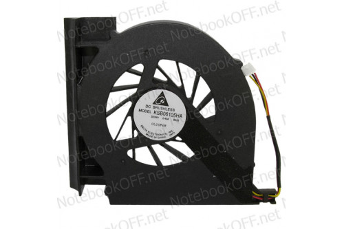 Вентилятор (кулер) для ноутбука HP Presario CQ61, G61, CQ71, G71 фото №1