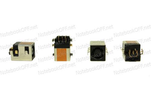 Разъем питания для ноутбуков HP Compaq Mini 5101, nx7400, nw8440, nw9440 фото №1