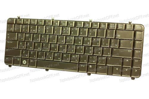 Клавиатура для ноутбука HP Pavilion dv5-1000 Кофе. фото №1