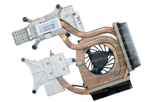 Термомодуль (с кулером DFS531305M30T) для ноутбука HP Pavilion dv6-2000 Series фото №1
